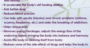 Some Reiki Benefits